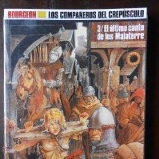 Cómics: LOS COMPAÑEROS DEL CREPUSCULO 3 / EL ULTIMO CANTO DE LOS MALATERRE - CIMOC EXTRA COLOR 66 (B1). Lote 49889668