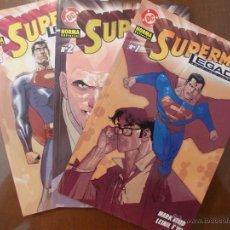 Cómics: COLECCION COMPLETA-SUPERMAN-LEGADO-3 EJEMPLARES-PERFECTA-NORMA. Lote 49925890