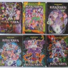 Cómics: NIRAI KANAI COMPLETA 1 AL 6 NORMA. Lote 49955859