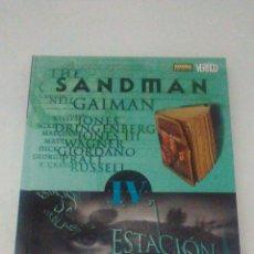 Cómics: SANDMAN IV ESTACIÓN DE NIEBLAS TAPA DURA. Lote 113821716