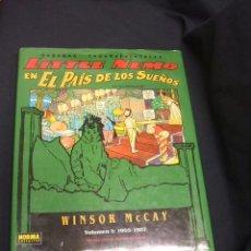 Cómics: LITTLE NEMO EN EL PAIS DE LOS SUEÑOS - WINSOR MC CAY - VOLUMEN 1 - 1ª EDICION - NORMA -. Lote 50035989
