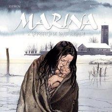 Cómics: CÓMICS. MARINA 2. LA PROFECÍA DE DANTE ALIGHIERI - ZIDROU/MATTEO (CARTONÉ). Lote 269120558