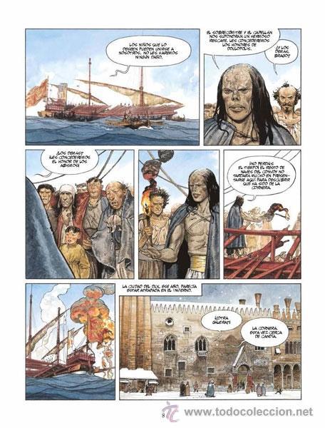 Cómics: Cómics. MARINA 2. LA PROFECÍA DE DANTE ALIGHIERI - Zidrou/Matteo (Cartoné) - Foto 4 - 269120558
