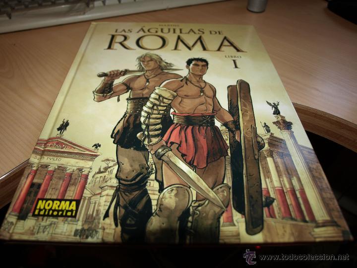 Las aguilas de roma libro i tapa dura nor comprar for Libro fuera de norma