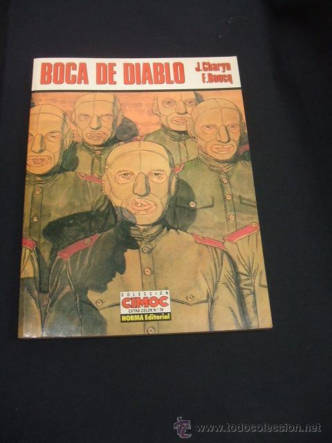 CIMOC EXTRA COLOR Nº 74 - BOCA DE DABLO - J. CHARYN - F. BOUCQ - NORMA - (Tebeos y Comics - Norma - Comic Europeo)