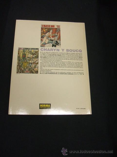 Cómics: CIMOC EXTRA COLOR Nº 74 - BOCA DE DABLO - J. CHARYN - F. BOUCQ - NORMA - - Foto 3 - 50099712