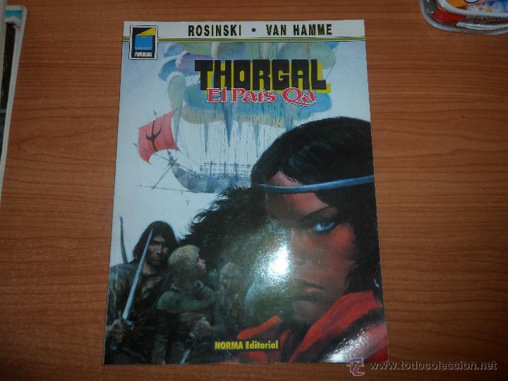 COLECCION PANDORA - Nº 3 - THORGAL EL PAIS QA - ROSINKI - NORMA EDITORIAL (Tebeos y Comics - Norma - Comic Europeo)