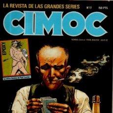 Cómics: CIMOC. REVISTA DE LAS GRANDES SERIES. Nº 17. NORMA EDITORIAL, 1982. Lote 50290626