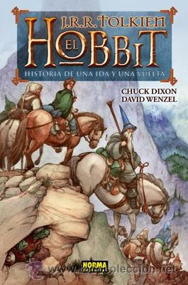 CÓMICS. EL HOBBIT - J.R.R. TOLKIEN/CHUCK DIXON/DAVID WENZEL (CARTONÉ) (Tebeos y Comics - Norma - Comic USA)