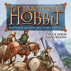 Cómics: CÓMICS. EL HOBBIT - J.R.R. TOLKIEN/CHUCK DIXON/DAVID WENZEL (CARTONÉ). Lote 140795110