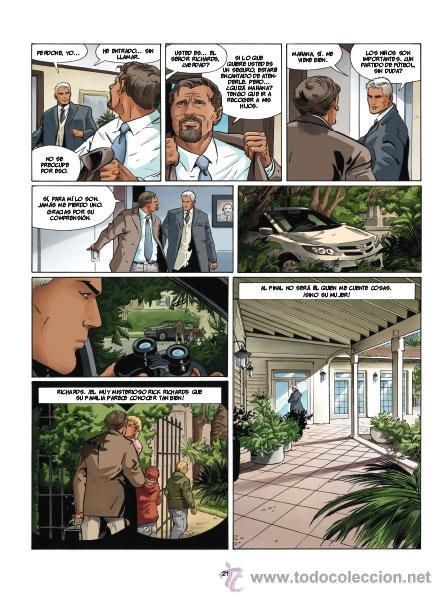 Cómics: Cómics. I.R.S. 15. PLUSVALÍAS DE LA MUERTE - Vrancken/Desberg (Cartoné) - Foto 4 - 262135185