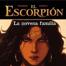 Cómics: CÓMICS. EL ESCORPIÓN 11. LA NOVENA FAMILIA - DESBERG/ENRICO MARINI (CARTONÉ). Lote 225288090