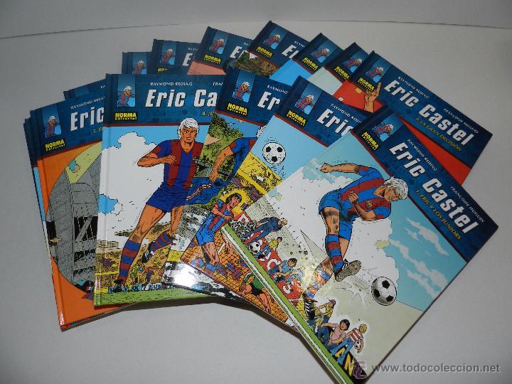 (M20) ERIC CASTEL - COLECCION COMPLETA DEL 1 AL 15 ,NORMA EDITORIAL 2012 EN CASTELLANO, FC BARCELONA (Tebeos y Comics - Norma - Otros)