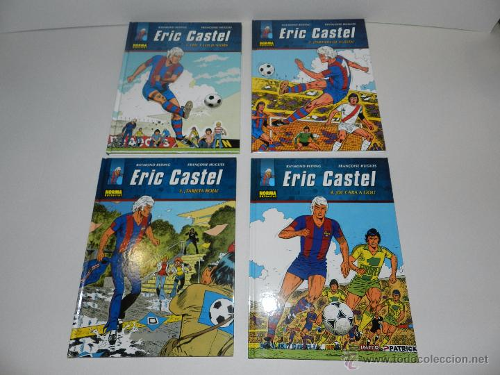 Cómics: (M20) ERIC CASTEL - COLECCION COMPLETA DEL 1 AL 15 ,NORMA EDITORIAL 2012 EN CASTELLANO, FC BARCELONA - Foto 2 - 50515993