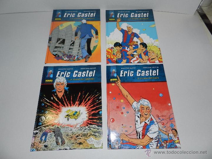 Cómics: (M20) ERIC CASTEL - COLECCION COMPLETA DEL 1 AL 15 ,NORMA EDITORIAL 2012 EN CASTELLANO, FC BARCELONA - Foto 3 - 50515993