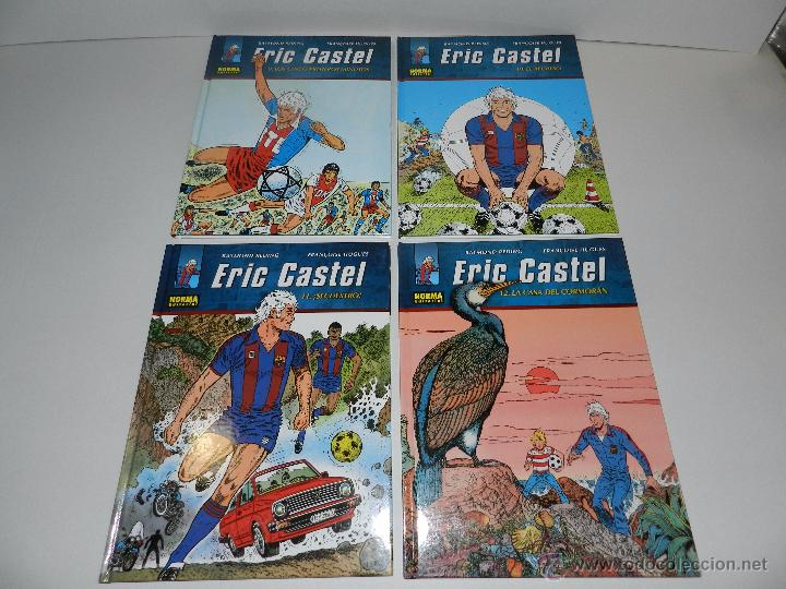Cómics: (M20) ERIC CASTEL - COLECCION COMPLETA DEL 1 AL 15 ,NORMA EDITORIAL 2012 EN CASTELLANO, FC BARCELONA - Foto 4 - 50515993