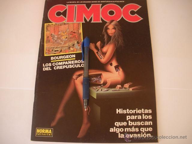 CIMOC Nº 91 - NORMA EDITORIAL - COMICS - (Tebeos y Comics - Norma - Cimoc)