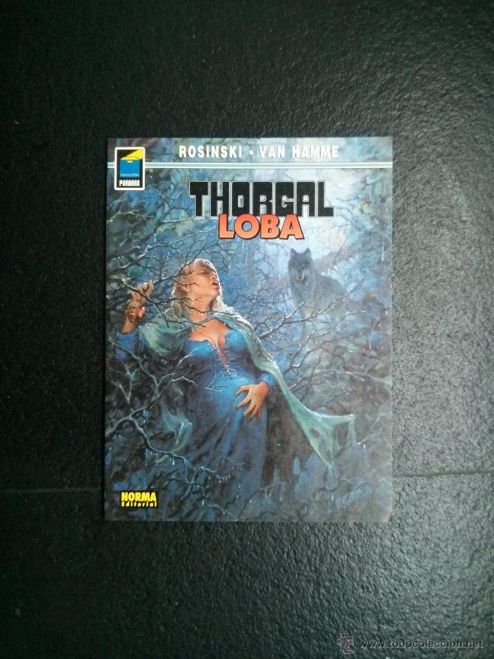 THORGAL LOBA GRZEGORZ ROSINSKI JEAN VAN HAMME COLECCIÓN PANDORA Nº 26 NORMA EDITORIAL (Tebeos y Comics - Norma - Comic Europeo)
