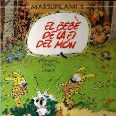 Cómics: EL BEBÈ DE LA FI DEL MÓN - MARSUPILAMI 2 - FRANQUIN / BATEM / GREG - NORMA - 1988 - EN CATALÁN. Lote 50627928