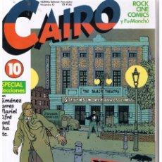 Cómics: CAIRO. Nº 10. ESPECIAL ELECCIONES. 1982. (RF,MA) C/39. Lote 50717424