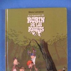 Cómics: LA LAYENDA DE ROBIN DE LOS BOSQUES NORMA EDITORIAL CARTONE. Lote 50763321