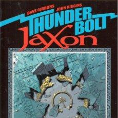 Cómics: DAVE GIBBONS.THUNDERBOLT JAXON. NORMA. COLECCION EL DIA DESPUES. 120 PAGINAS. Lote 248291830