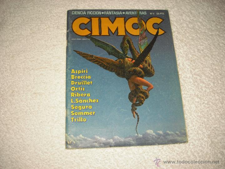 CIMOC N. 11 (Tebeos y Comics - Norma - Cimoc)