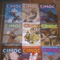 Cómics: COMIC LOTE DE: 9 CIMOC EDITORIAL NORMA. CORRELATIVOS . Lote 50988284