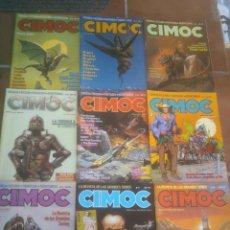 Cómics: COMIC LOTE DE: 9 CIMOC EDITORIAL NORMA. CORRELATIVOS . Lote 114284032
