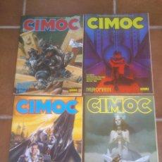 Cómics: COMIC LOTE DE: 4 CIMOC EDITORIAL NORMA. CORRELATIVOS . Lote 50988322