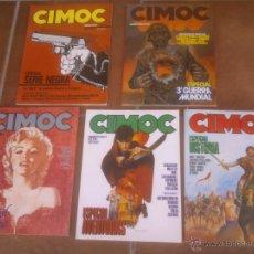 Cómics: COMIC LOTE DE: 5 EXTRS CIMOC EDITORIAL NORMA. CORRELATIVOS . Lote 50988324