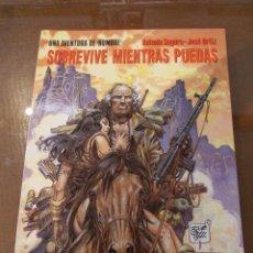 Cómics: COLECCION CIMOC EXTRA COLOR-HOMBRE-Nº107-SOBREVIVE MIENTRAS PUEDAS. Lote 51011260