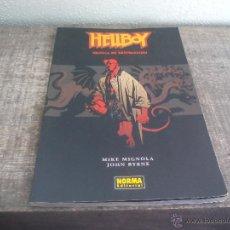 Cómics: HELLBOY. SEMILLA DE DESTRUCCIÓN. MIKE MIGNOLA JOHN BYRNE - NORMA EDITORIAL 2001. Lote 51096928