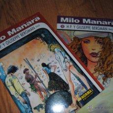 Cómics: COLECCION MILO MANARA----H.P. Y GIUSEPPE BERGMAN Nº 1 Y 2 COMPLETA----NORMA EDITORIAL. Lote 51332030