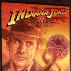 Cómics: INDIANA JONES Y LA TUMBA DE LOS DIOSES DE ROB WILLIAMS, STEVE SCOTT Y BART SEARS. Lote 51496941