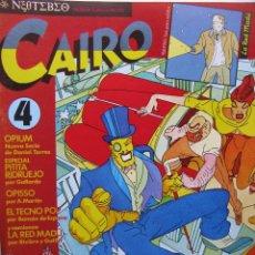 Cómics: CAIRO. NROS. 4/5, 7/9 Y 19.. Lote 51531546