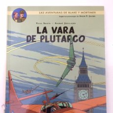 Cómics: BLAKE Y MORTIMER 23. LA VARA DE PLUTARCO - NORMA. Lote 51554739