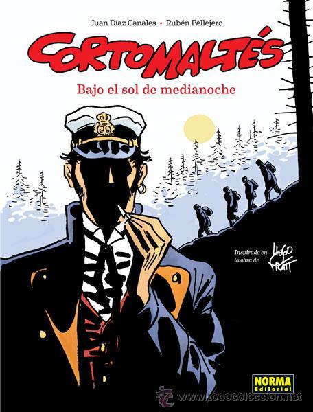 CÓMICS. CORTO MALTÉS. BAJO EL SOL DE MEDIANOCHE - JUAN DÍAZ CANALES/RUBÉN PELLEJERO (CARTONÉ) (Tebeos y Comics - Norma - Comic Europeo)