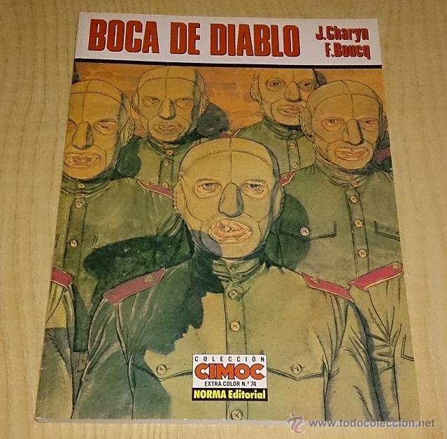 BOCA DE DIABLO-J.CHARYN / F. BOUCQ. CIMOC EXTRA COLOR. (Tebeos y Comics - Norma - Comic Europeo)