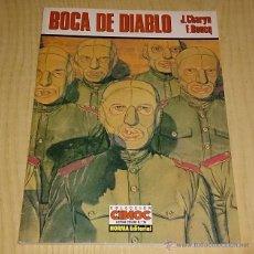 Cómics: BOCA DE DIABLO-J.CHARYN / F. BOUCQ. CIMOC EXTRA COLOR.. Lote 51616448