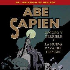 Cómics: CÓMICS. ABE SAPIEN 3. OSCURO Y TERRIBLE Y LA NUEVA RAZA DEL HOMBRE - MIKE MIGNOLA/JOHN ARCUDI/SCOTT . Lote 51628166