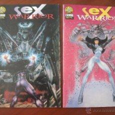 Cómics: SEX WARRIOR COMPLETA NORMA CA. Lote 51783897