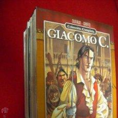 Cómics: GIACOMO C COLECCION COMPLETA 15 COMICS - DUFAUX & GRIFFO - CARTONE. Lote 51919510