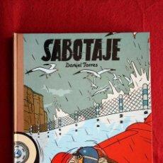 Cómics: LOS ÁLBUMES DE CAIRO, Nº 15. SABOTAJE. DANIEL TORRES, 1988. NUEVO. DEDICADO POR EL AUTOR. Lote 50198808