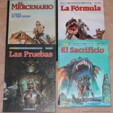 Cómics: CIMOC PRESENTA 1 EL MERCENARIO 2 LA FORMULA 5 LAS PRUEBAS 12 EL SACRIFICIO - NORMA 1982 - Y SUELTOS. Lote 38496987