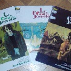 Cómics: LA CASA DE LOS SECRETOS: CIMIENTOS - 3/3 COMICS DE LOMO (COMPLETA). Lote 51984326