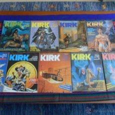 Cómics: EL COMIC DE AVENTURAS KIRK NºS 4 5 6 7 8 9 11 13 14. NORMA 1982. 100 PTS. BUEN ESTADO.. Lote 52063823