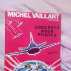 Cómics: MICHEL VAILLANT JEAN GRATON CONCERTO POUR PILOTES 1968 JOURNAL DE TINTIN.DARGAUD. Lote 78100890