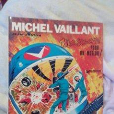Cómics: MICHEL VAILLANT MASSACRE POUR UN MOTEUR 1972. JEAN GRATON.DARGAUD.. Lote 52147452