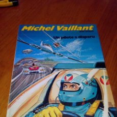 Cómics: MICHEL VAILLANT UN PILOTE A DISPARU K.O. POUR STEVE WARSON 1980 JEAN GRATON.. Lote 52370145